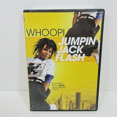 Jumpin' Jack Flash DVD EXCELLENT CONDITION RARE OOP Whoopi Goldberg