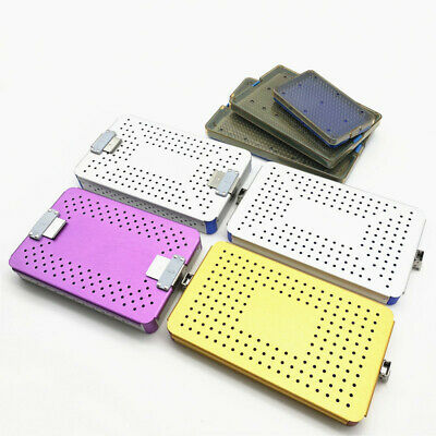 Ophthalmic Surgical Instruments Autoclavable Silicone Disinfecting box / tray