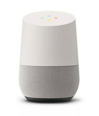 GOOGLE HOME Smart Assistant Speaker Voice Activated Music White BRAND NEW $179