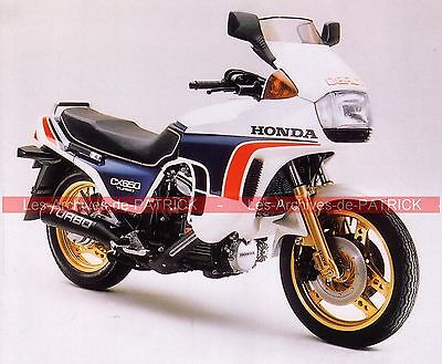HONDA CX 500 Turbo ( CX500 ) 1983 Fiche Moto 000041