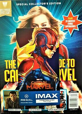 Captain Marvel IMAX Regal Collectible Ticket ! 4 Of 1,000 ! Week 2 !