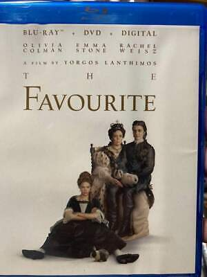 Favourite, The (2019) Blu-Ray No DVD/Digital/Slip Like New FASTFREE Combine SHIP