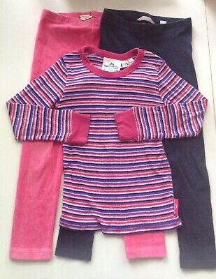 GIRL'S size 4-5 leggings Country Road, Bluezoo AND Kathmandu thermal top