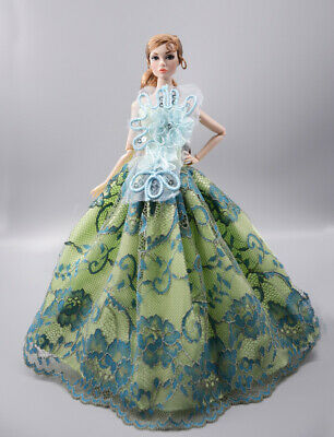 Fashion Princess Party Dress/Evening Clothes/Gown For 11.5 inch Doll b08