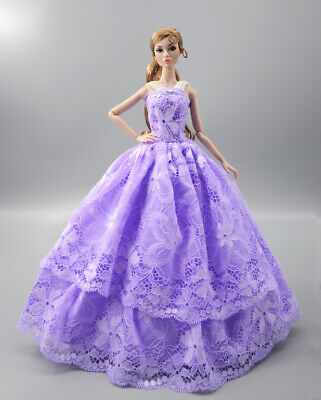 Fashion Princess Party Dress/Evening Clothes/Gown For 11.5 inch Doll b15