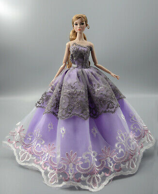 Fashion Princess Party Dress/Evening Clothes/Gown For 11.5 inch Doll b19