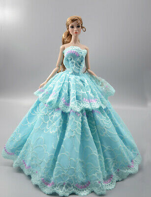 Fashion Princess Party Dress/Evening Clothes/Gown For 11.5 inch Doll b20