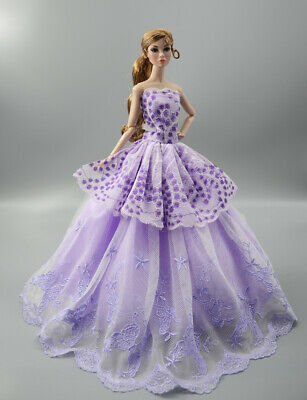 Fashion Princess Party Dress/Evening Clothes/Gown For 11.5 inch Doll b21