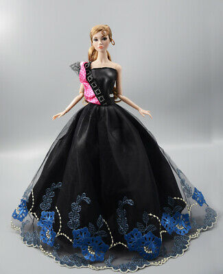 Fashion Princess Party Dress//Evening Clothes//Gown For 11.5 inch Doll b18