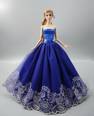Fashion Princess Party Dress/Evening Clothes/Gown For 11.5 inch Doll b04