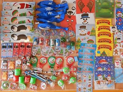 25 - 100 Children's Christmas Party Bag Fillers Toys Lucky Prizes Xmas Lucky Dip