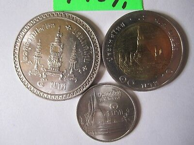 3 x  coins  from Thailand   10   gms      Mar4917