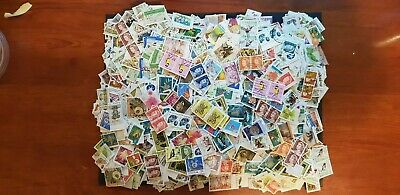 Over 7000 Used Australian Stamps Off Paper - Bulk Lot. SEE PHOTOS