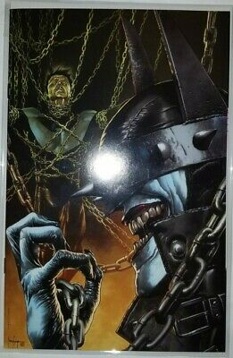 The Batman Who Laughs The Grim Knight #1 Eccc 2019 Rare Unknown Virgin Variant