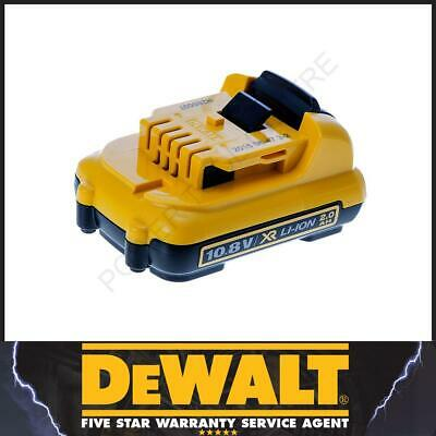 Genuine DeWalt DCB127 10.8 Volt 2.0Ah Lightweight XR Li-Ion Slide Battery Pack