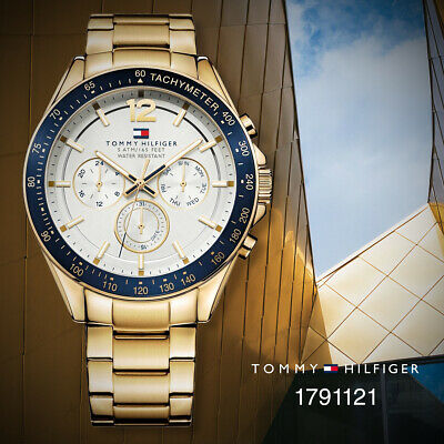 491ab731 TOMMY HILFIGER GOLD Mens Analog business Luke 1791121 - $165.90 ...