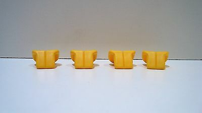 4648281 2 x Lego yellow life jackets Parts /& Pieces