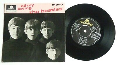 "The Beatles - Job Lot 5 X 7"" - 'all My Loving' Ep + 4 - 'hard Days Night' +"