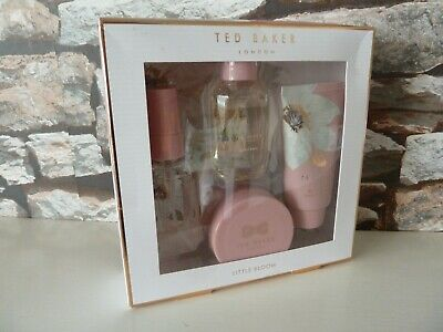 new : TED BAKER LITTLE BLOOM (BODY WASH/ SPRAY) - GIFT SET. FAST/FREE POSTING
