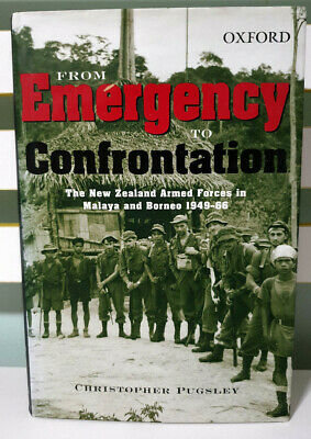 From Emergency to Confrontation: The New Zealand Armed Forces! HB / DJ Book!