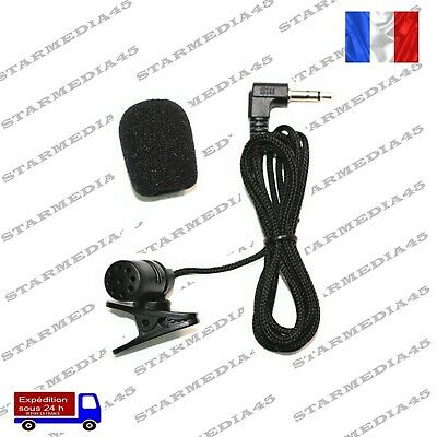 Microphone Micro Jack 3.5mm autoradio Sony Pioneer Jvc Alpine Bluetooth mp3 (90)