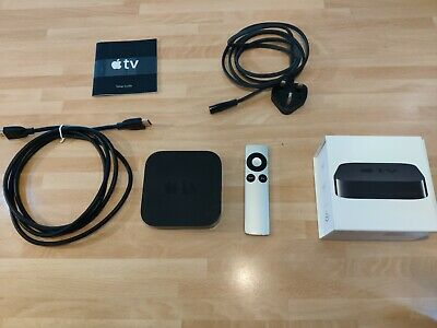 Apple TV (3rd Generation) 1080p 8GB HD Media Streamer-A1469(MD199B/A) FREE HDMI