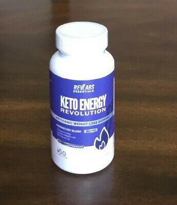 Keto Energy Revolution Advanced Ketogenic WeightLoss Supplement 800mg 60Capsules