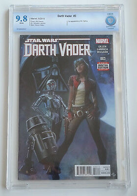Darth Vader #3 CBCS 9.8 1st Appearance Aphra 1st Print STAR WARS NM+