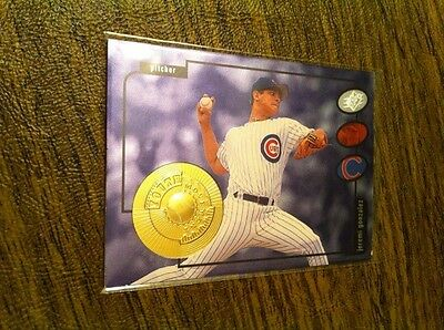 Jeremi Gonzalez 1998 Spx Finite Chicago Cubs Rookie Insert Rc Serial # /5000!!!!