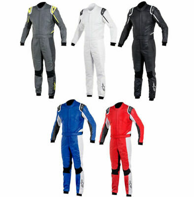 Alpinestars Go Kart Racing Suit CIK-FIA Level 2 Approved With Free Gift