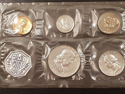1961 U.S.Silver Franklin Proof Set 90% Silver Uncirculated Proof Set
