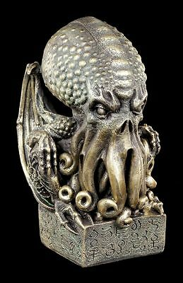 Cthulhu Figurine Bust - the Great Old - Daemon Decorative Statue Octopus