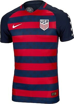75f7c4231 2017 Gold Cup Nike USA Soccer Jersey Vapor Match Jersey 100% Authentic Size  L