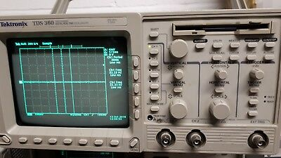 Digital real time oscilloscope TDS360