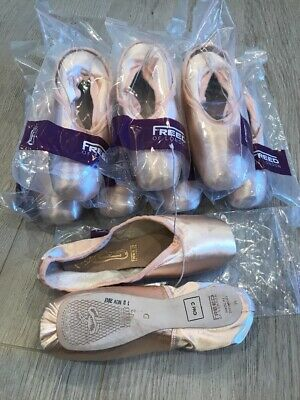 FREED Classic Pro Pointe Shoes 5 1//2 no X 'D' maker