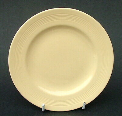 Vintage Wood Woods & Sons Ware Yellow Jasmine Sm Side Bread Plates 15cm in VGC
