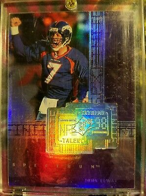John Elway 1998 SPX Finite Extreme Talent SPECTRUM Parallel #281 32/150
