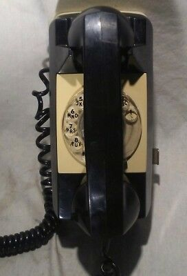 GTE Automatic Electric Type 192A Starlite Rotary Dial Telephone Black Tested