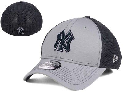 6ec63e484f9 New NWT MLB New York Yankees New ERA Greyed Out Neo 39Thirty Cap Hat M