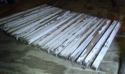 FREE SHIPPING - LOT OF antique 25 PORCH RAILING SPINDLES 1890's Rescued Fir Wood