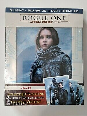 Rogue One: A Star Wars Story, Target Exclusive (3D, Blu-ray, DVD, Digital HD)
