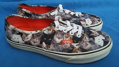 f70cd43b16 VANS SHOES CATS ASPCA Kittens Sneakers Size Mens 5   Womens 6.5 ...