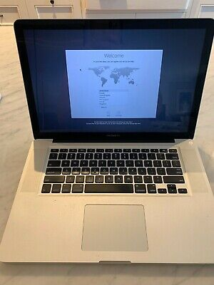 """Apple Laptop MacBook Pro """"Core i7"""" 2.66 15 Inch Screen - Wiped Ready for Use"""
