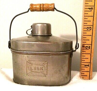 Antique Salesman's Sample Lisk Railroad/Coal Miner Workers Lunch Pail