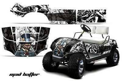 Cart Graphics Kit Decal Sticker Wrap For Yamaha Golf Car 1995-2006 HATTER K W