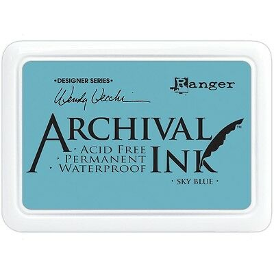 Archival Ink Pad - Wendy Vecchi Designer Series - Sky Blue