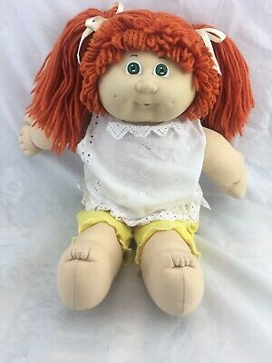 Vintage Cabbage Patch Kids Doll *red Hair *green Eyes *o.a.a. *coleco 1978-82.
