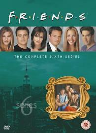 Friends: Complete Season 6 - New Edition [DVD] [1995], Acceptable, DVD, FREE & F