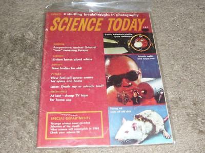 Science Today Magazine / April 1964 / Vol 1 No 1 First Issue / Lasers Death Ray?