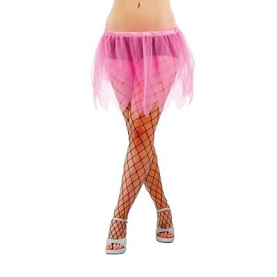 Fancy Dress Accessories | Neon Tutu - Tu Adult Lady All Colours Pink 3 New